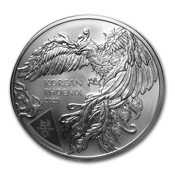 2020 Phoenix South Korean 1 oz Silver Bullion Coin