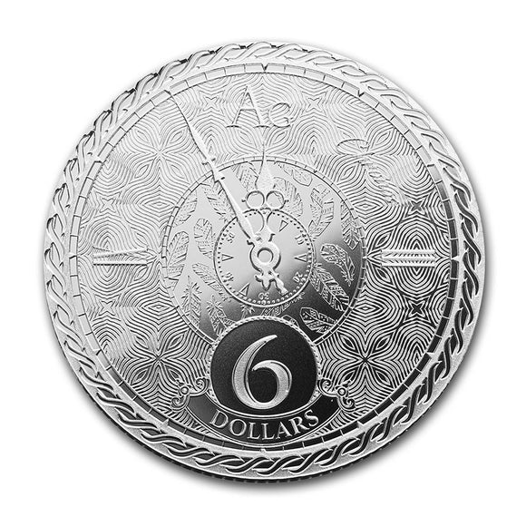 2020 Tokelau Chronos 1oz Silver Bullion Coin