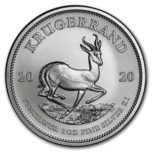 2020 South Africa Krugerrand 1oz Silver Bullion Coin