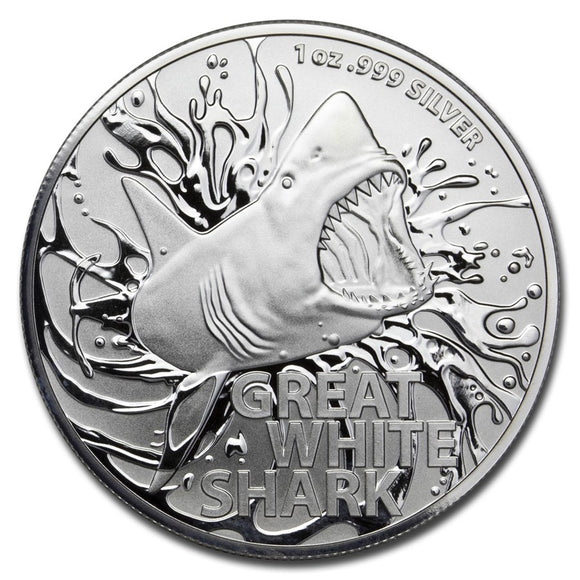 2021 Australian Great White Shark 1oz Silver Bullion Coin