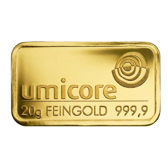 Umicore 20g Gold Bar