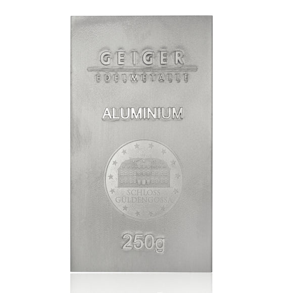 250g Aluminium Bullion Bar