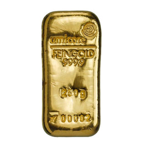 Umicore 250g Gold Bar