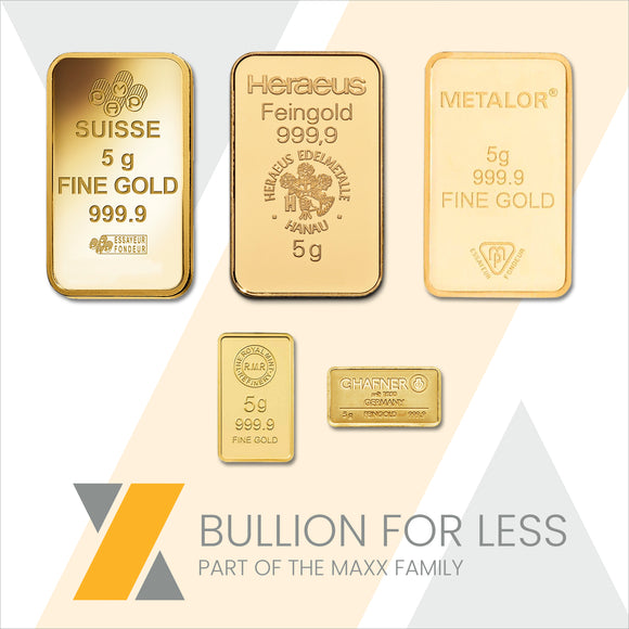 Best Value 5g Gold Bar