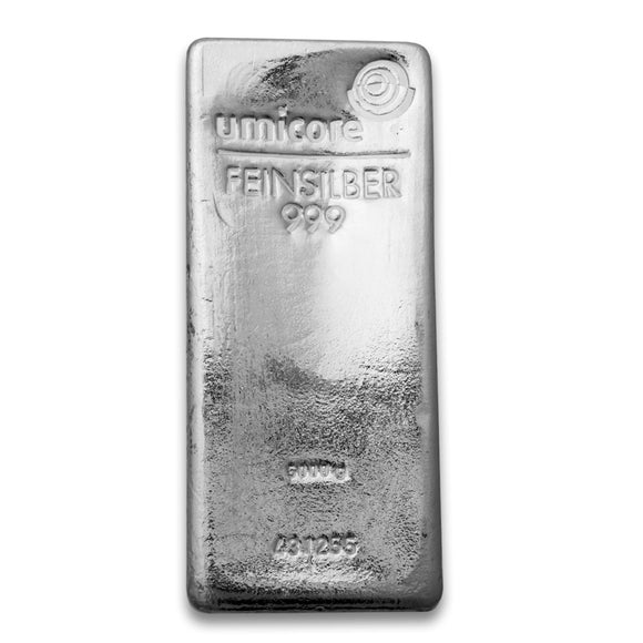 Umicore - 5000g (5kg) Silver Bar