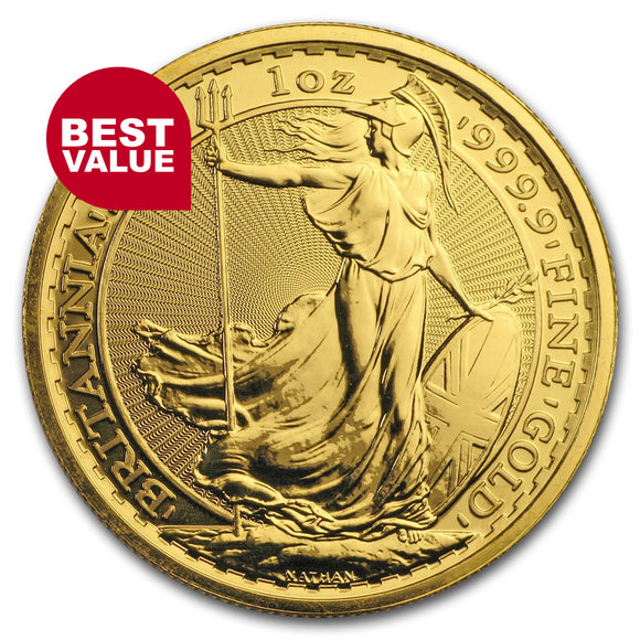 Best Value 1oz Gold Britannia