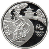 5 Reais Olympic Games Rio 2016 - Cycling / Toucan