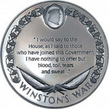 Winston's War Medallion 1990