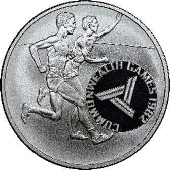 1982 Tonga 10 Pa'anga Runner The Commonwealth Games