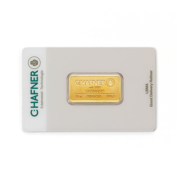 C-Hafner 10g Gold Bar