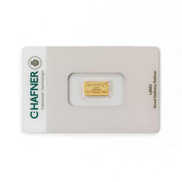 C-Hafner 1g Gold Bar