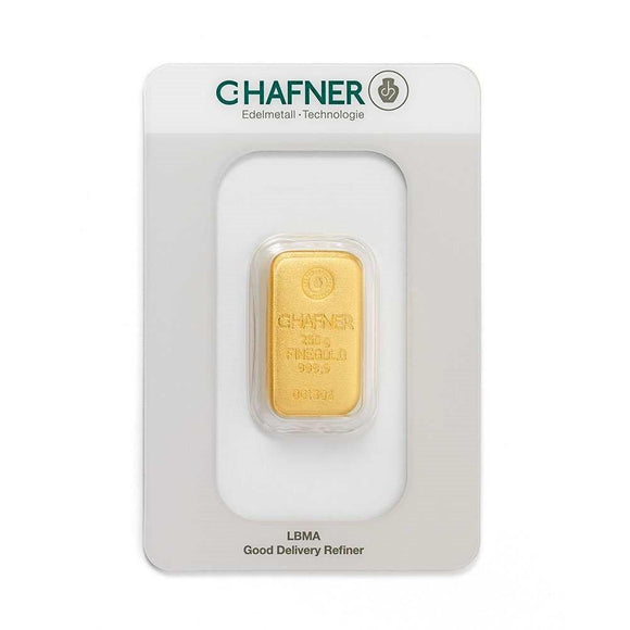 C-Hafner 250g Gold Bar