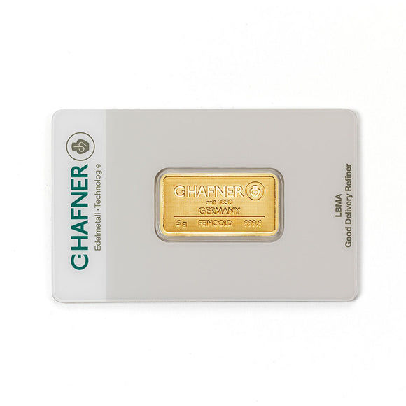 C-Hafner 5g Gold Bar