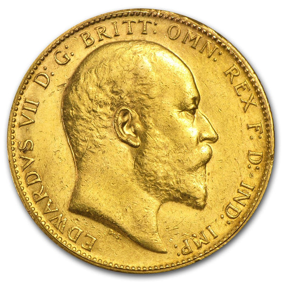 Gold Half Sovereign - Edward VII - 1902-1910