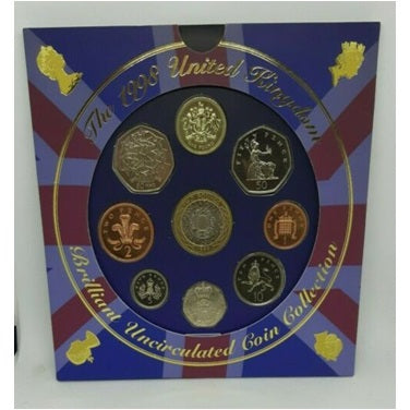 1998 United Kingdom Brilliant Uncirculated Coin Collection