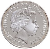 5 Pounds - Elizabeth II Royal Wedding Silver Piedfort William and Catherine