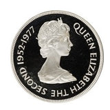 50 Pence - Elizabeth II Silver Jubilee Silver Proof Issue Falkland Islands