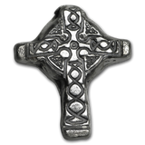 1oz Poured Silver Bar - Celtic Cross