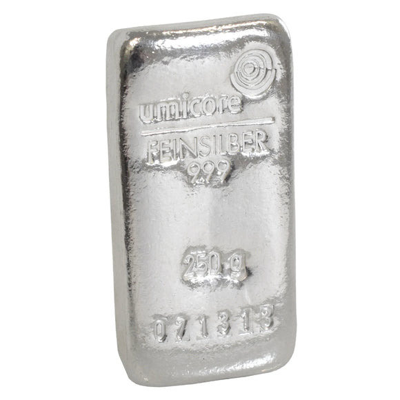 Best Value - 250g Silver Bar