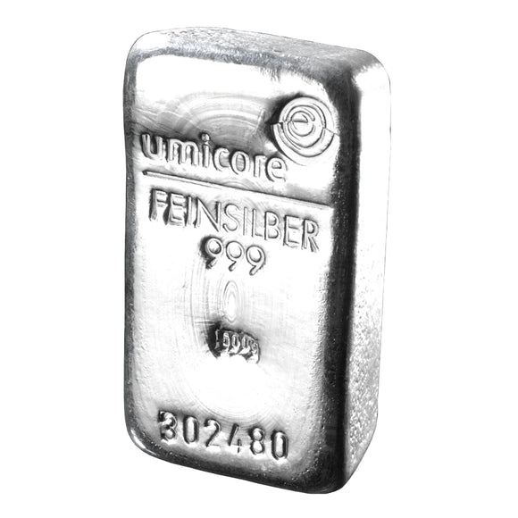 Umicore - 500g Silver Bar