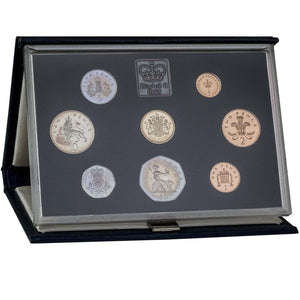 1983 Whole Coin Set UK Annual Proof - Standard