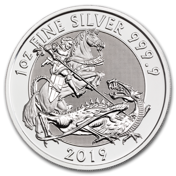 2019 Silver Valiant 1oz Silver Bullion Coin