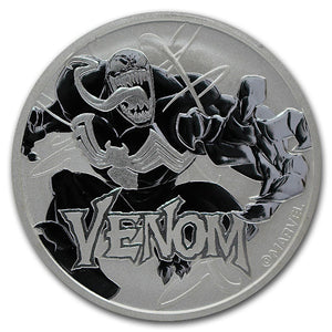 2020 Marvel Venom 1oz Silver Bullion Coin