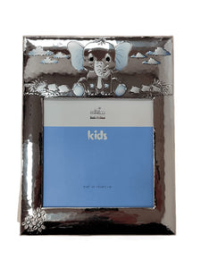 Chinelli Small Blue Elephant Style Photo Frame 6x8 Inch Or 15x20cm