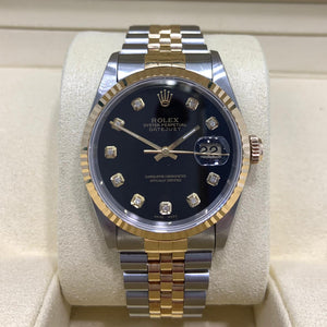 Bi-metal Rolex Datejust 36
