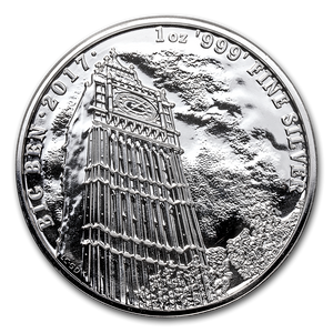 2017 Big Ben 1oz Silver Bullion Coin