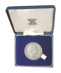 1969 Prince of Wales Investiture sterling silver medal coin