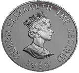 1986 2 Pounds Elizabeth II Commonwealth Games Proof
