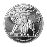 2019 Roaring Lion of Judah 1 ounce Silver Bullion Coin