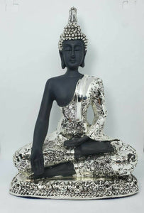 Buddha Silver Plated Hindu Indian Religious Ornament