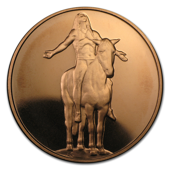 1 oz Copper Round - Appeal to the Great Spirit