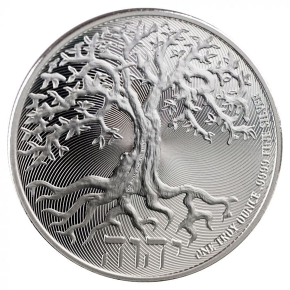 2019 Tree of Life 1 ounce Silver Bullion Coin