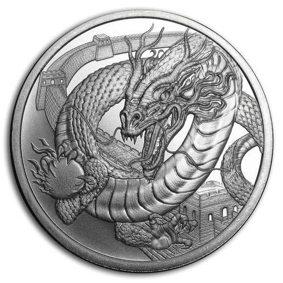 1oz World of Dragons - The Chinese Dragon Silver Bullion Coin