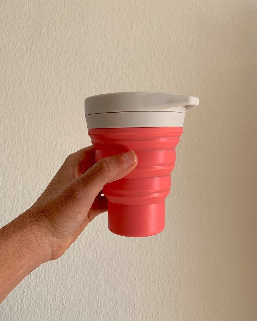 ECO-CONSCIOUS REUSABLE FOLDING CUP