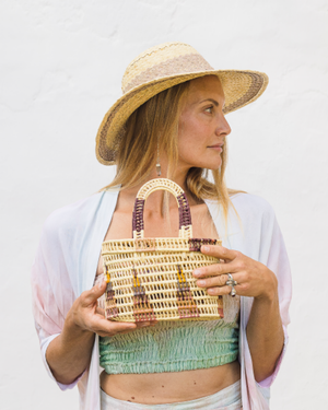BELA STRAW BASKET BAG