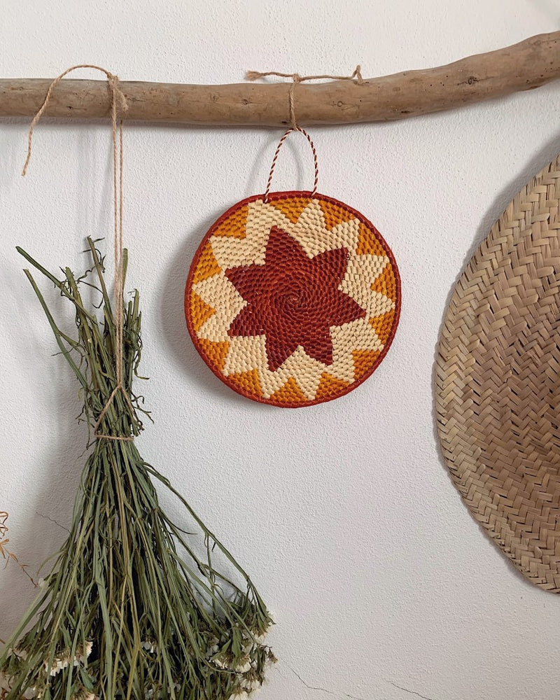 STRAW MANDALA - SMALL
