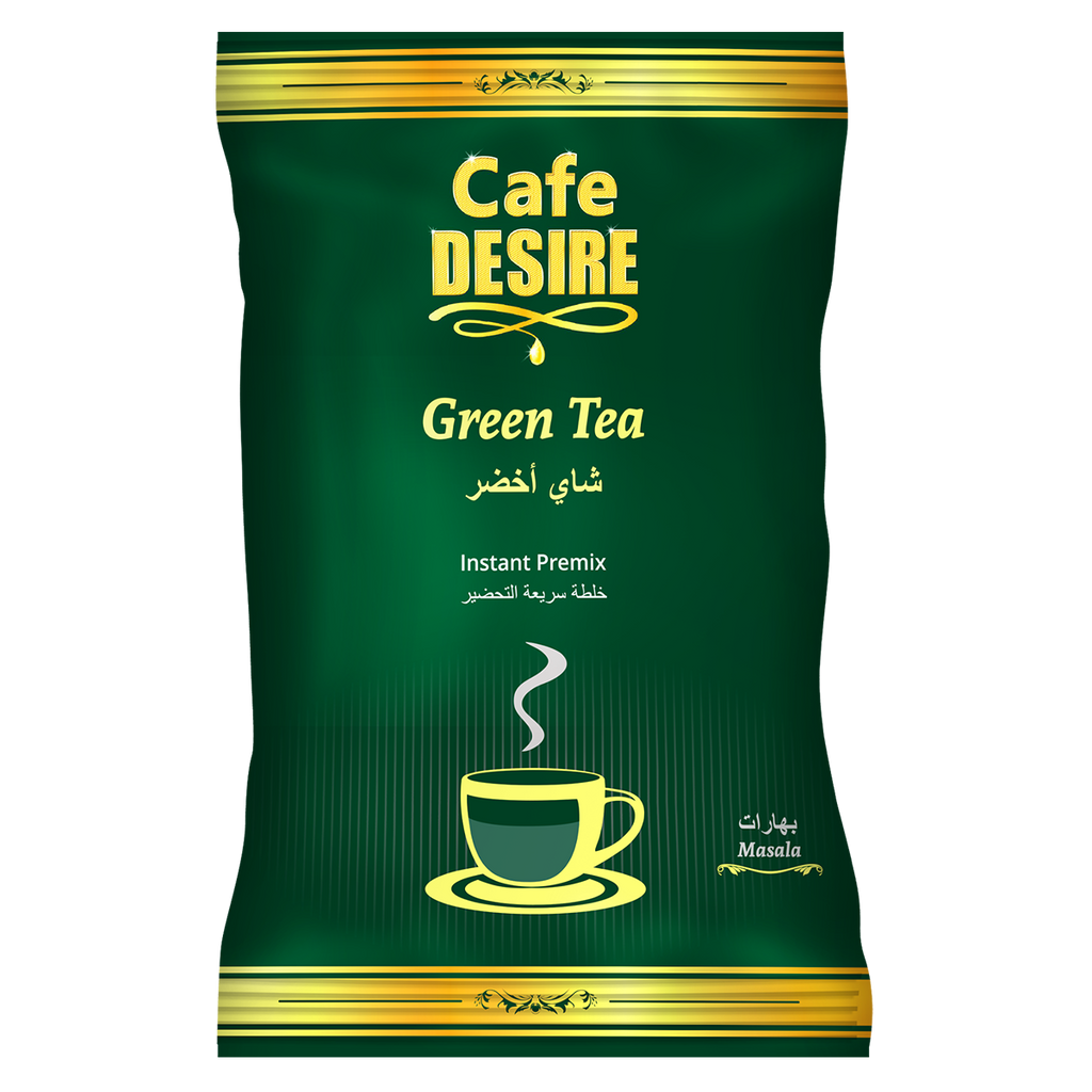 Masala Green Tea Premix (500g) | Makes 100 Cups | For Manual Use - Just add Hot Water | Suitable for all Vending Machines