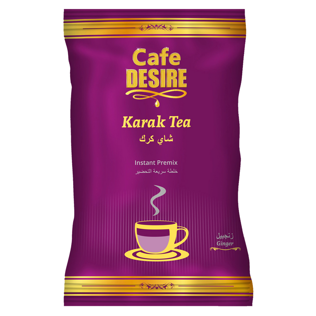 Kadak Ginger Tea Premix (1Kg) | 3 in 1 Tea | Makes 80 Cups | Strong Tea with Ginger Flavour | Milk not required | Rich taste as Home-made | For Manual Use - Just add Hot Water | Suitable for all Vending Machines