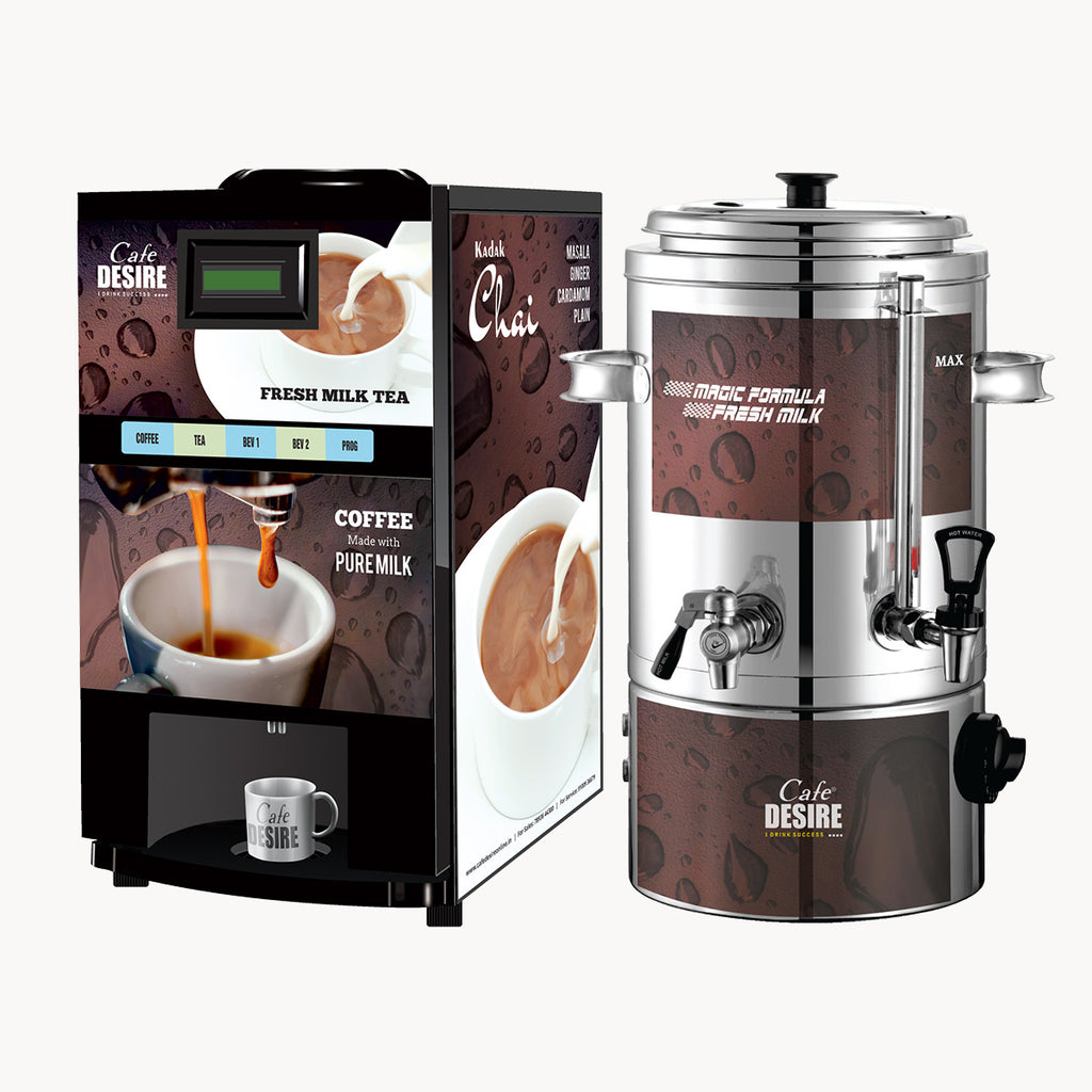 Magic Formula Fresh Milk Coffee & Tea Vending Machine