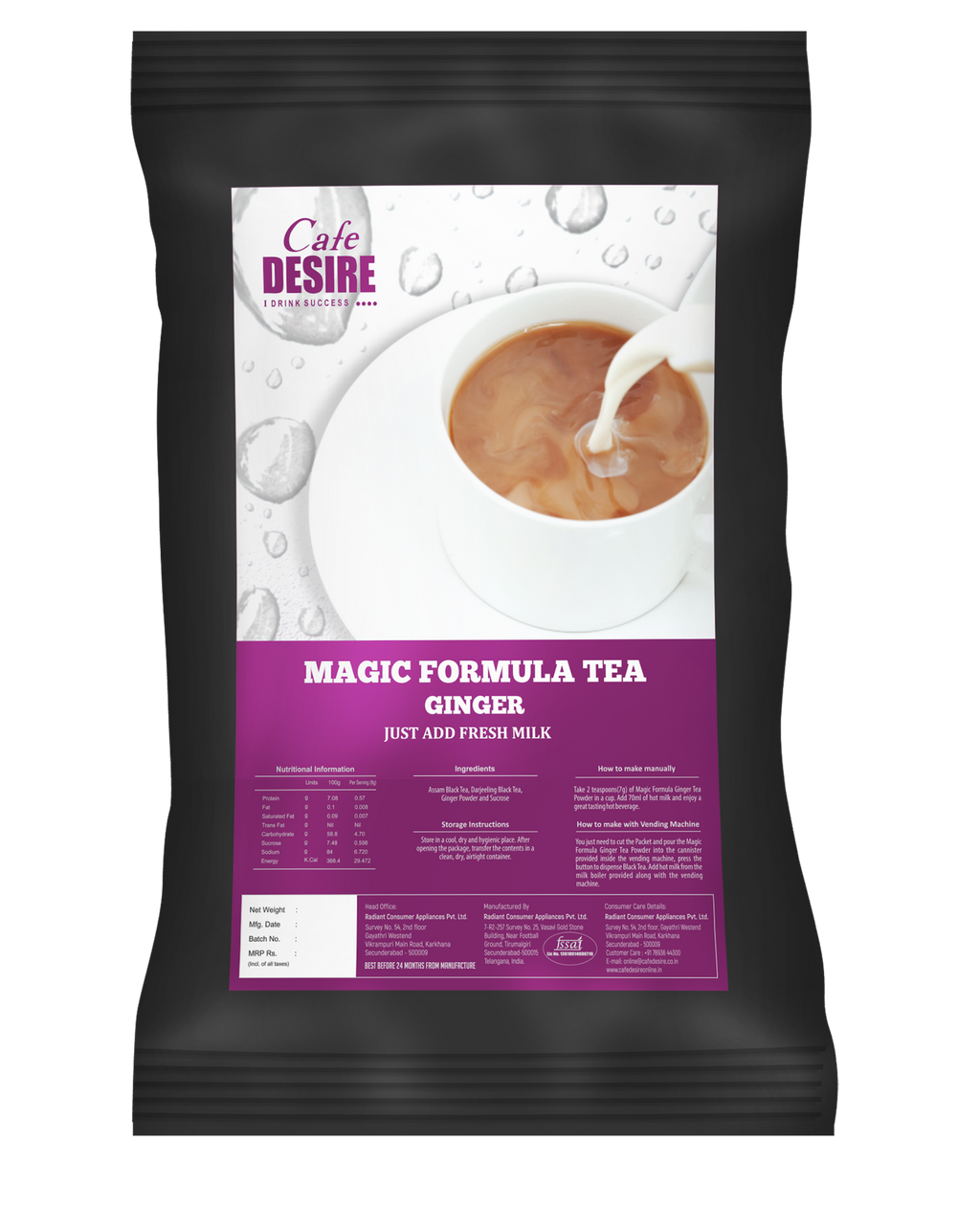 Magic Formula Tea Ginger - 1 Kg