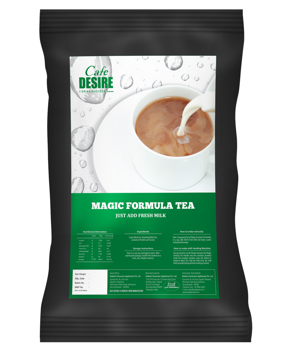Magic Formula Tea Plain - 1 Kg
