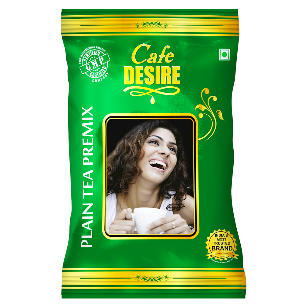 Instant Plain Tea Premix (1 Kg) | 3 in 1 Tea | Milk not required | Rich taste as Home-made | Manual use - Just add Hot Water | Suitable for all Vending Machines | Makes 90 cups per KG