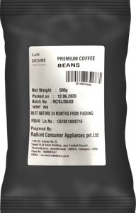 Roasted Coffee Beans - PREMIUM - 500g