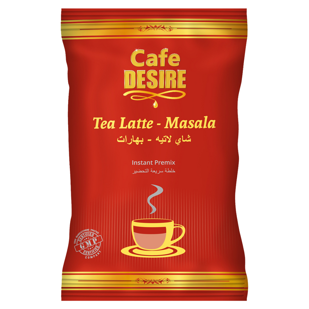 Tea Latte - Masala Premix (650g) | Makes 80 Cups | No Added Sugar | Milk not required | Mixture of Aromatic Herbs & Spices | For Manual Use - Just add Hot Water | Suitable for all Vending Machines