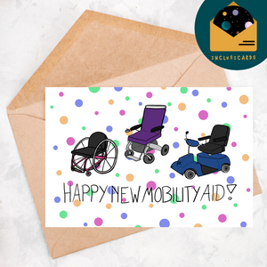 Happy New Mobility Aid - Chairs