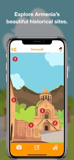 Im Armenia: Travel App for Kids